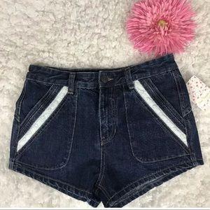 Free people lace short jean